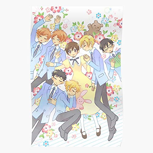 Kyoya Ohshc Club Haruhi High School Host Tamaki Ouran Home Decor Wall Art Print Poster !
