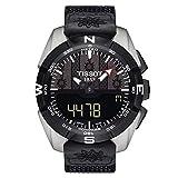 Tissot T-Touch Perpetual Alarm World Time Chronograph Quartz Analog-Digital Black Dial Watch T091.420.46.051.02