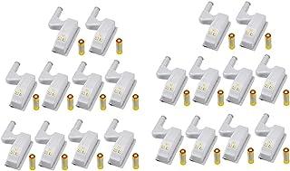 20 Stuks LED Scharnier Licht Universele Home Keuken Kantoor Deurlicht Hotel Garderobe Kast Automatische Schakelaar Koel Wi...