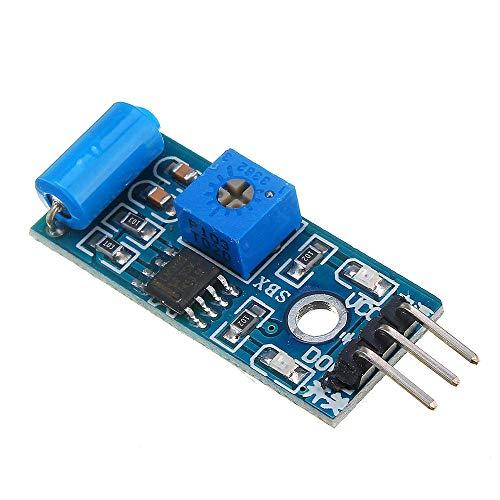 hgbygvuy SW-420 Motion Sensor Modulo Modulo Vibrazione Interruttore Allarme Sensore Modulo S