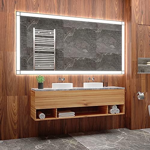 ARTTOR Espejos Pared - Espejo Baño - Decoracion Hogar - Espejos Decorativos - Muchos Tamaños - Pequeños y Grandes - Rectangulares y Cuadrados - M1ZP-60-40x60