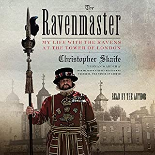 The Ravenmaster audiobook cover art