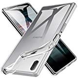 Verco Handyhülle für Sony L3 Hülle, Handy Cover für Sony Xperia L3 Hülle Transparent Dünn Klar Silikon, durchsichtig