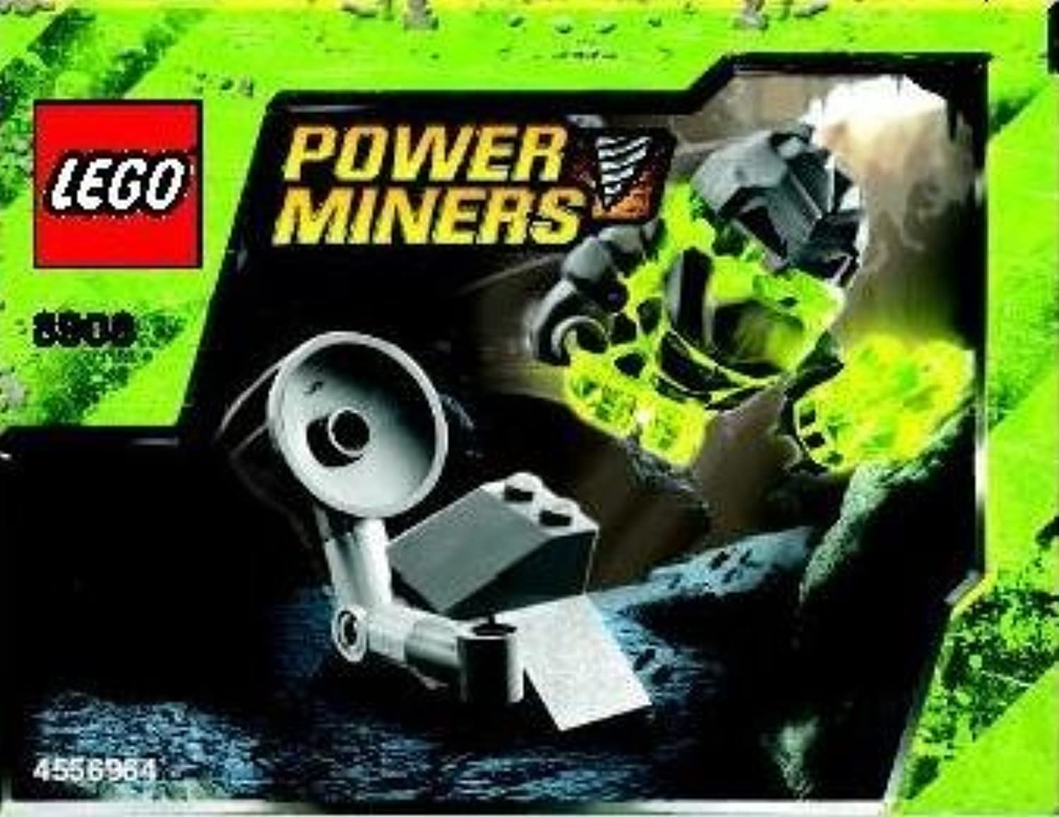 LEGO Power Miners Exclusive Mini Figure Set  8908 Monster Launcher