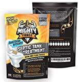 Septic Tank Treatment Packets - 1 Year Supply (12 Dissolvable Flush Packs) - Billions of Active Bacteria - Just Drop, Flush, Repeat