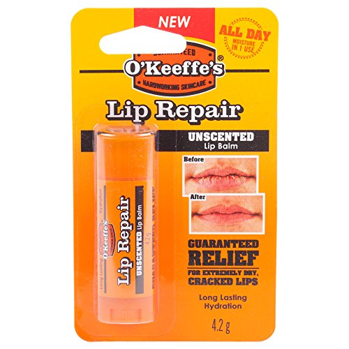 O'Keeffe's Lip Repair Unscented 4.2g - 6 Pack 7544001