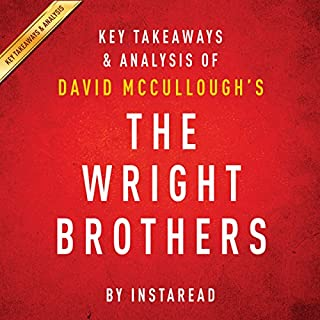 The Wright Brothers by David McCullough audiobook cover art