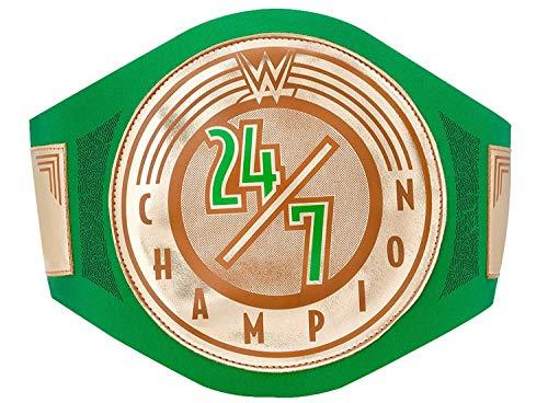 Wwe Autentico Indossare 24/7 Championship Giocattolo Titolo Cintura Oro