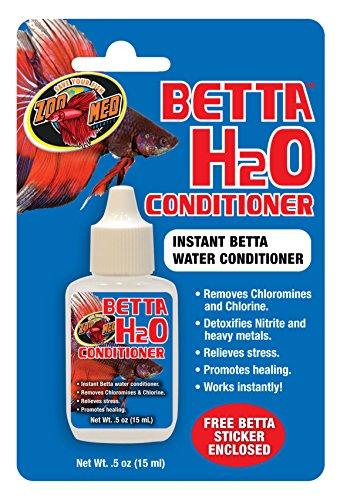 Zoo Med BP-10e Betta H2O Conditioner - Wasseraufbereiter zur Gesundheitsfödrung, speziell für Betta Kampffische