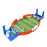 ZQO Mini Deportes de Mesa Fútbol Fútbol Juegos de Arcade de Fiesta Doble Batalla Interacción Entre Padres e Hijos Juguetes Juegos de Mesa para niños Niños Adultos