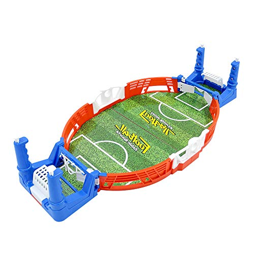 ZQO Mini Table Sports Football Soccer Arcade Party Games Double Battle Parent-Child Interaction Toys Tabletop Games for Children Kids Adults