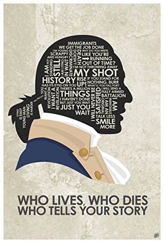 Hamilton 'Who Lives, Who Dies, Who Tells Your Story Giclee Art Print