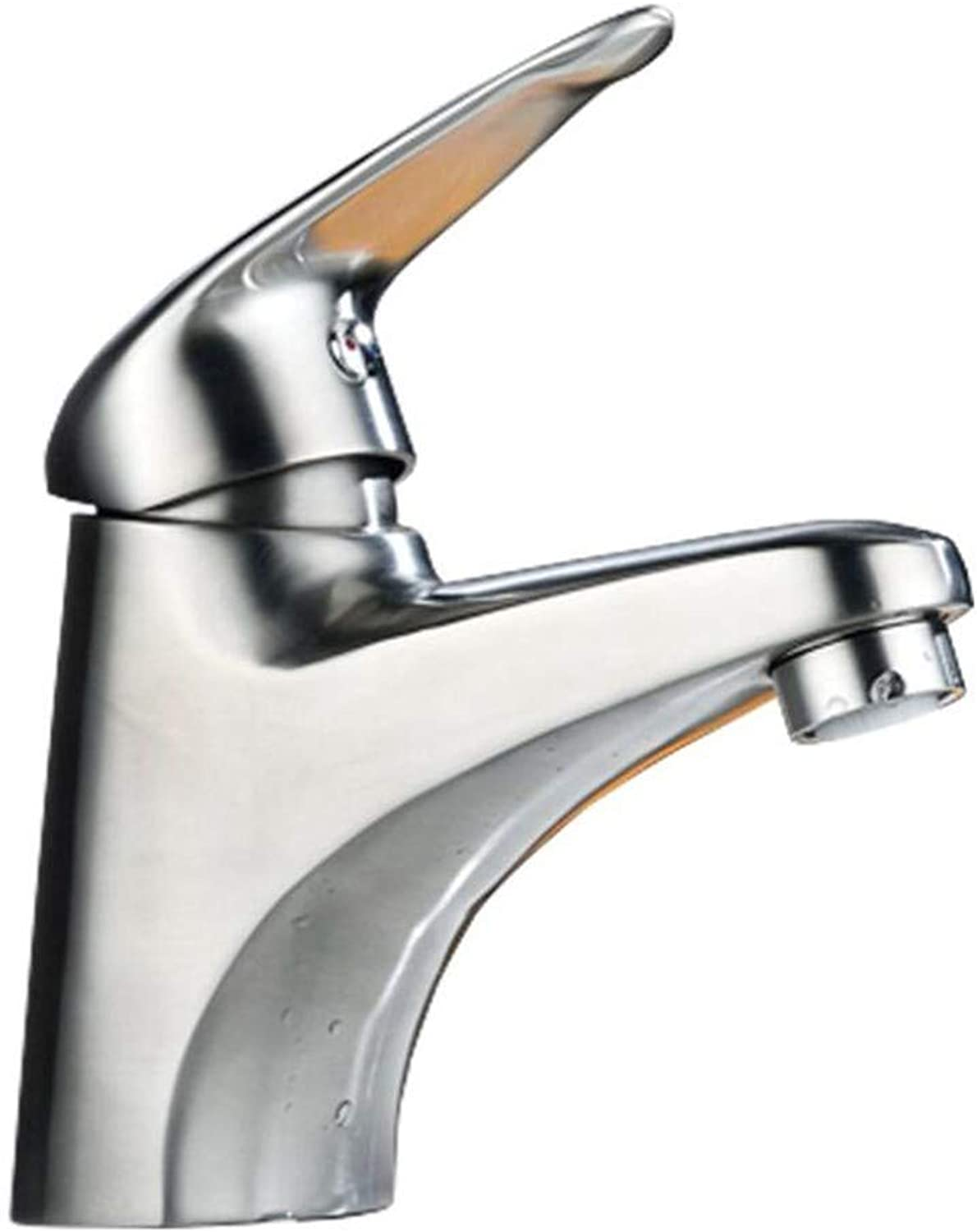 Bathroom Sink Basin Lever Mixer Tap 304 Stainless Steel Basin Washbasin