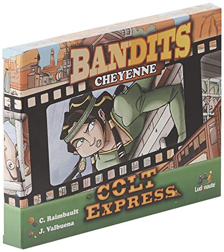 Asmodee- Colt Express: Bandits Pack Cheyenne Expansion en Castellano, Color (LUCOEX06NA)