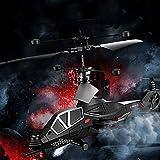 Weaston Control Remoto Aviones 3,5 Pass Aviones Militares de Combate Aviones Aviones no tripulados helicóptero teledirigido con el Juguete giroscopio niños