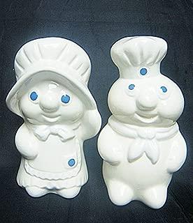 Pillsbury Doughboy & Doughgirl 1988 Salt & Pepper Shaker Set
