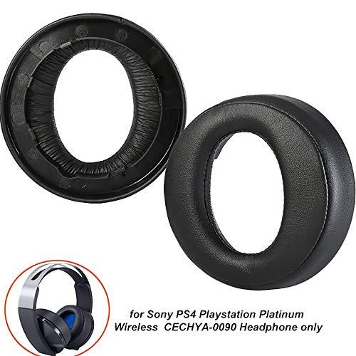 Almohadillas de repuesto para auriculares Sony PS4 Playstation Platinum Wireless Playstation 4 Solo auriculares CECHYA-0090