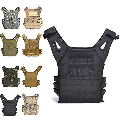 FR&RF Le Camouflage des Hommes Gilet Outdoor Hommes D'équipement De Formation De Paintball Gilet Chasse Dos De Camping Gilet Léger,6