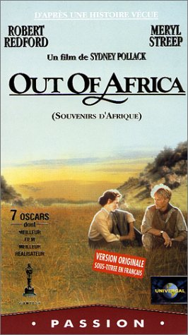 Out of africa [VHS]