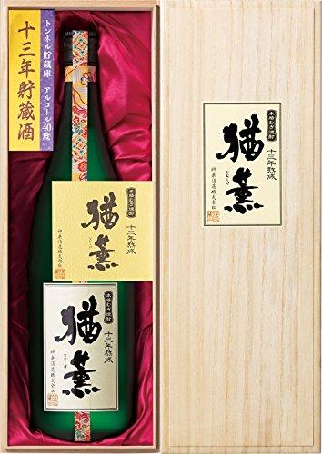 神楽酒造 十三年熟成 猶薫(なおしげ) 麦 桐箱入り [ 焼酎 40度 宮崎県 1800ml ]