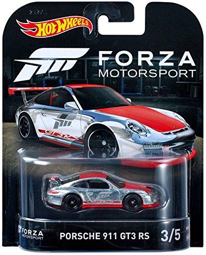 Hot Wheels Forza Motorsport Porsche 911 GT3 RS 3/5