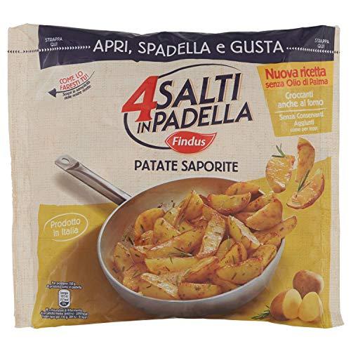 4 Salti in Padella Findus - Patate Saporite, 450g