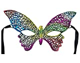 Lovelegis Mod 2 - venezianische Maske - Schmetterling - Multicolor - makramee - Karneval - Halloween...