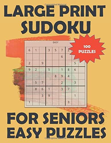 Large Print Sudoku for Seniors: Easy Puzzles - Level 1 - Great for Beginners