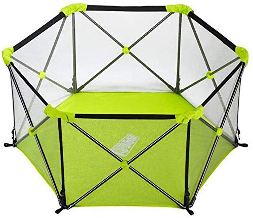 Fantastic Prices! Cxjff Baby Playpen Portable-Hexagonal Infant Play,Baby Toddler Playpen, Indoor a...