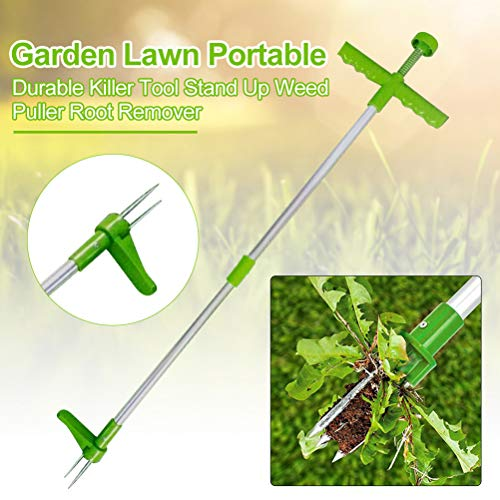 Lowest Price! Keemov Long Handled Weeder Tool Lightweight Weeder Twister Weed Puller Handled Weeding...