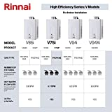 Photo #5: Rinnai V75iP Propane Tankless Water Heater 7.5 GPM