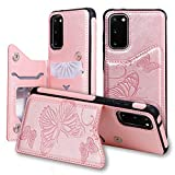 SUMOON Samsung Galaxy S20 FE Fold Case for Women/Girl,Back
