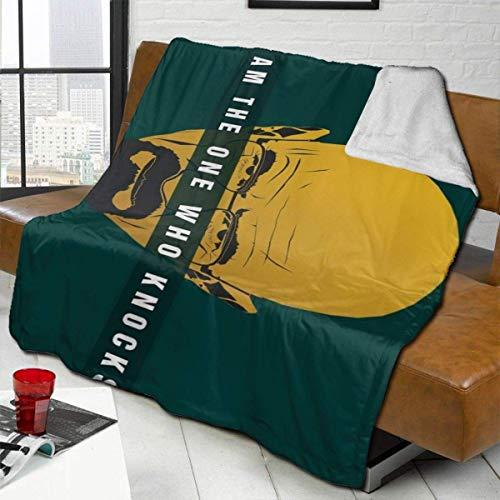 Breaking Bad Throw Blanket Ultraweiche Bettwäsche Hautfreundlich Warm Flanell Alle Jahreszeiten für Schlafzimmer Home Wohnzimmer Sofa 50'x 40'