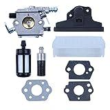 Haishine Carburetor Kit Filtro Aria carburatore per STIHL 021 023 025 MS210 MS230 MS250 MS 210 230 250 Motosega Sostituire Le Parti
