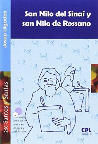 San Nilo del Sinai y San Nilo De Rossano (SANTOS Y SANTAS)