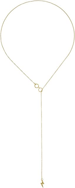 "14KT Gold Plated Harry Potter Glasses Lariat 18"" Necklace"