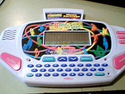 1997 Tiger Electronics, Inc. Tiger Electronics Name That Tune Lcd Electronic Hand-held Game with Tname That Tune Music Cartridge (Register By Tiger Electronics---all Songs Are Copyright By Emi Music Publishing, Inc. All Rights Reserved/used By Permission/