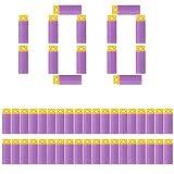 WORKER 100PCS Gen4 Stefan Purple Dardos cortos para Nerf/Woker serie Eléctrico Modificado Blaster