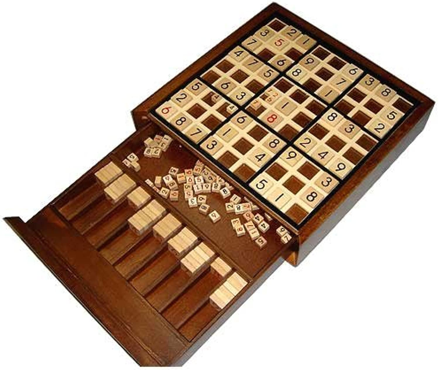 Wooden Deluxe Sudoku Board Game