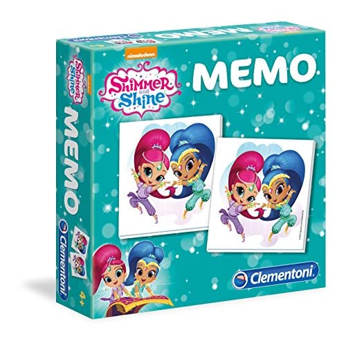 Clementoni Shimmer and Shine Gioco Memo, Multicolore, 18005