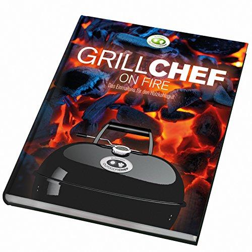 Outdoorchef Barbacoa Libro de Cocina Barbacoa Chef Charcoal On Fire, Multicolor, 22x...