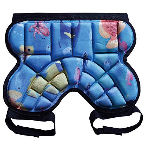 Wuhanyimang Protector de cadera para niños, pantalones cortos acolchados para niños,...