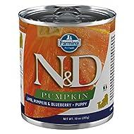Farmina Natural & Delicious Pumpkin Canine Lamb, Pumpkin & Blueberry Puppy 6/10.05-oz