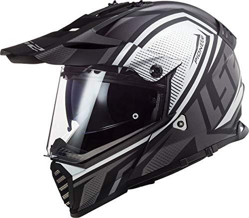 LS2 MX436 Pioneer Evo Master - Casco de motocross