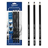 Best Charcoal Pencils - Artist Charcoal Pencils Set - 3 Pieces Soft Review