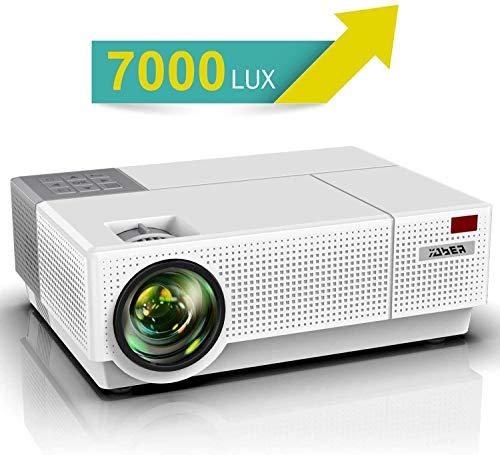 Vidéoprojecteur, YABER 7000 Lumens Video Projecteur...