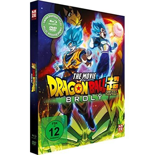 Dragonball Super: Broly - [Blu-ray + DVD] Steelbook