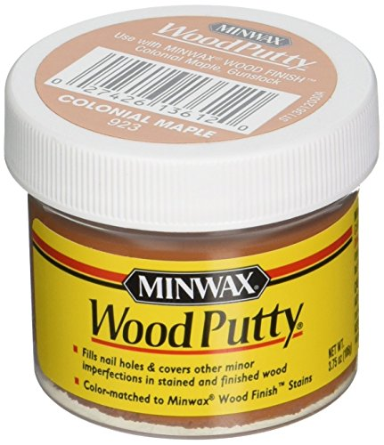 Minwax 13612000 Wood Putty, 3.75 Ounce, Colonial Maple