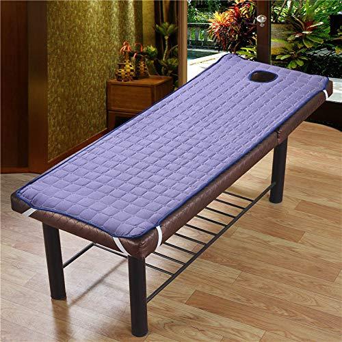 Liamostee anti-slip Soliod kleur rechthoek matras voor schoonheidssalon massage bed