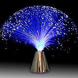 Luz Nocturna de Fibra óptica con Cambio de Color Lámpara de Mesa LED Luz de Humor Batería operada para niños Dormitorio Adulto Cumpleaños Navidad Día de San Valentín Cena Decoración de Fiesta